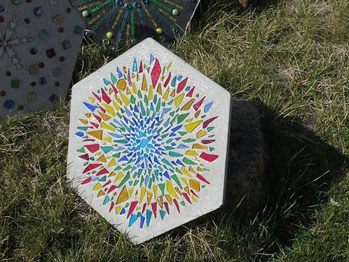 SunBurst Garden Stone