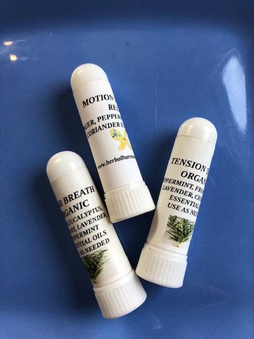 Organic Herbal Inhalers