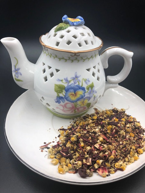 Hearty Robust Herbal Tea Blend