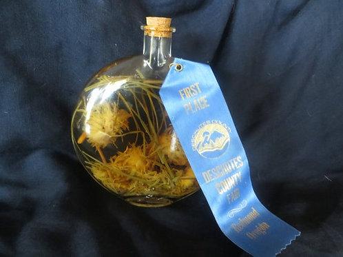 Calendula/Chive Infused Vinegar