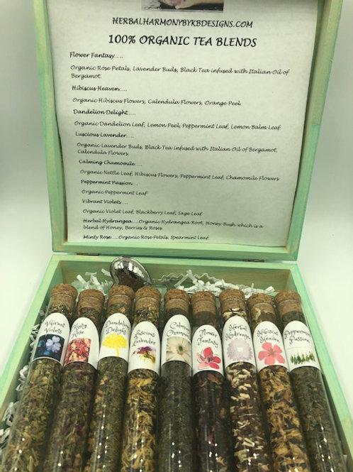 Organic Tea Sampler Gift Box