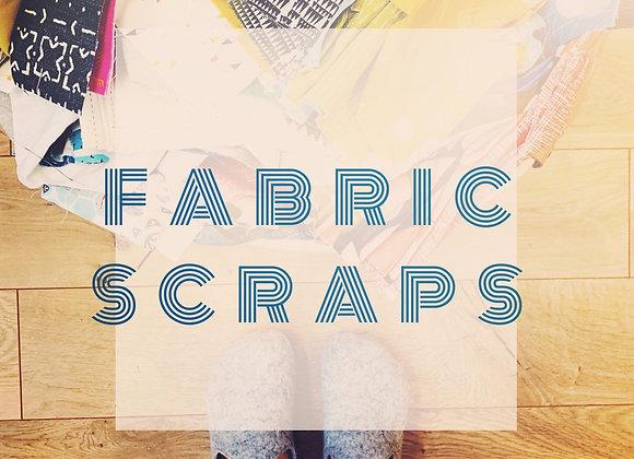 Fabric Scrap Bag