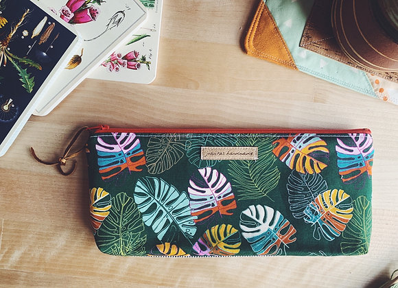 Monstera Notions Pouch