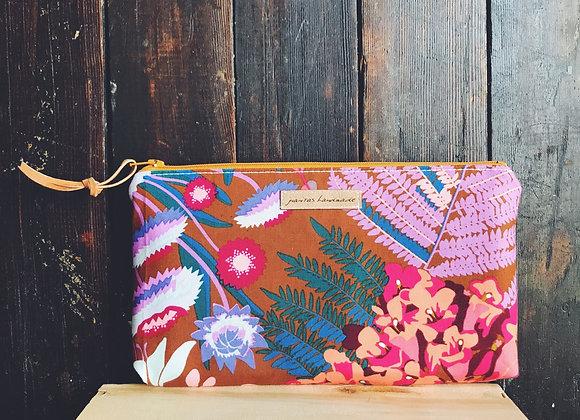 Boho Floral Oil Bag