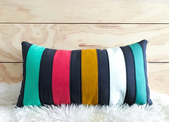 Dark Stripe Pillow