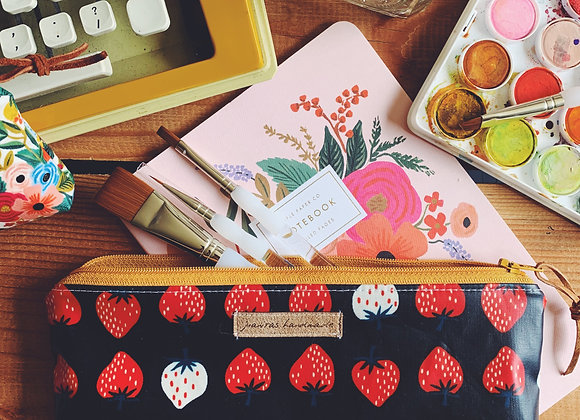 Strawberry Notions Pouch