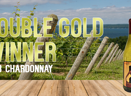 2018 Chardonnay Wins Double Gold at 2019 New York Wine Classic