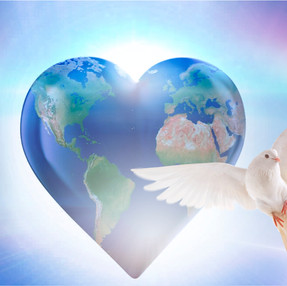 Through Only Peaceful Measures Will Peace Exist