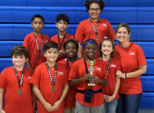 Math Team Places 2nd!