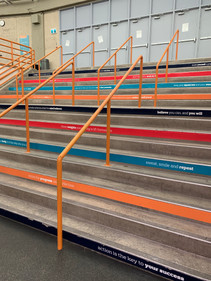 FITNESS CENTRE STAIRS