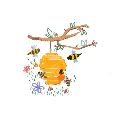 蜜蜂在地球上能存活數億年的秘密之一