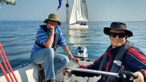 Sonars put to sea for a Wednesday evening RDYC race