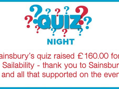 Sainsbury's Quiz Night