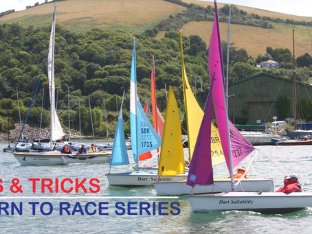 Learning to race series....