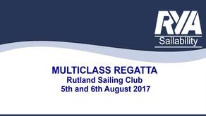 Multiclass Regatta at Rutland