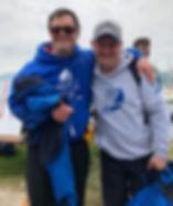 two disabled members enjoying life at dar sailability