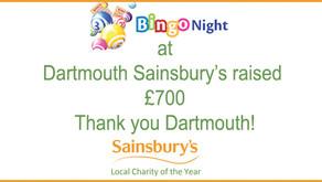 Sainsbury's Dartmouth Charity Bingo