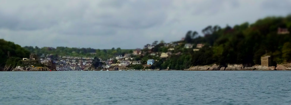 View of Dartmouth from Start Bay