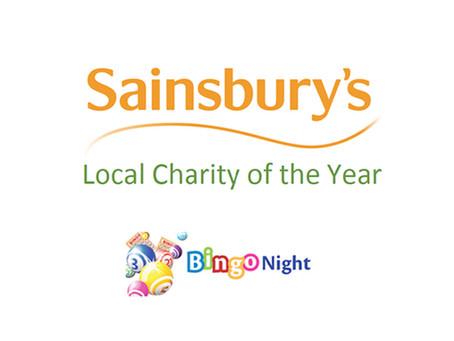 £1,200 Raised at Sainsbury's Local Charity of the Year - Bingo Night!