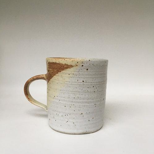 Stoneware Cup with Handle