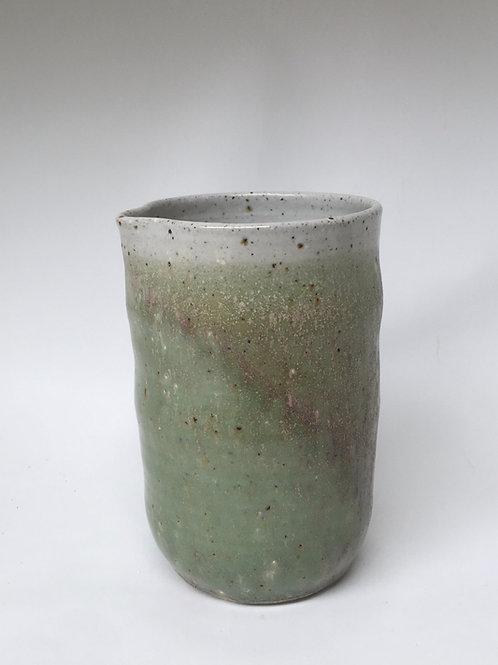 Green Stoneware Pourer