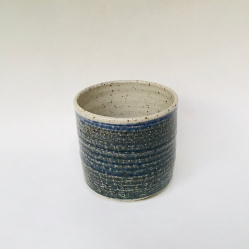 blue/green cup