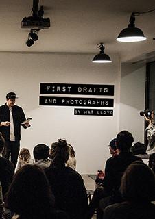 First Drafts and Photoghraphs