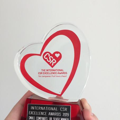 Private Goodness wins an international CSR award
