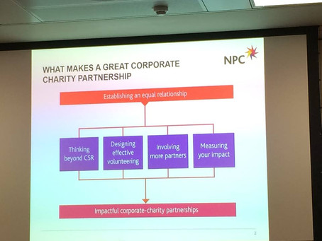 What makes a great corporate charity partnership? NPC share their wisdom.