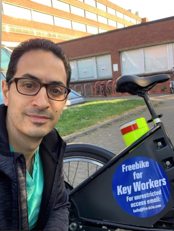 How Freebike helped NHS workers get to work safely