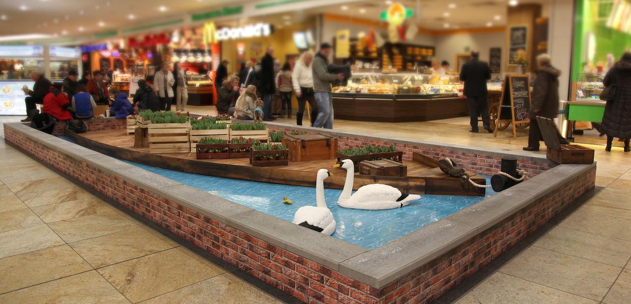 Einkaufscenter Dekoration Venedig