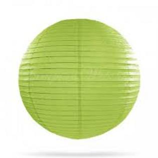 Papierlaterne hellgrün