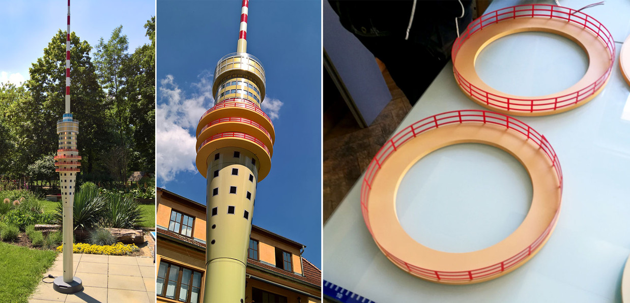 Nachbildung Dresdner Fernsehturm