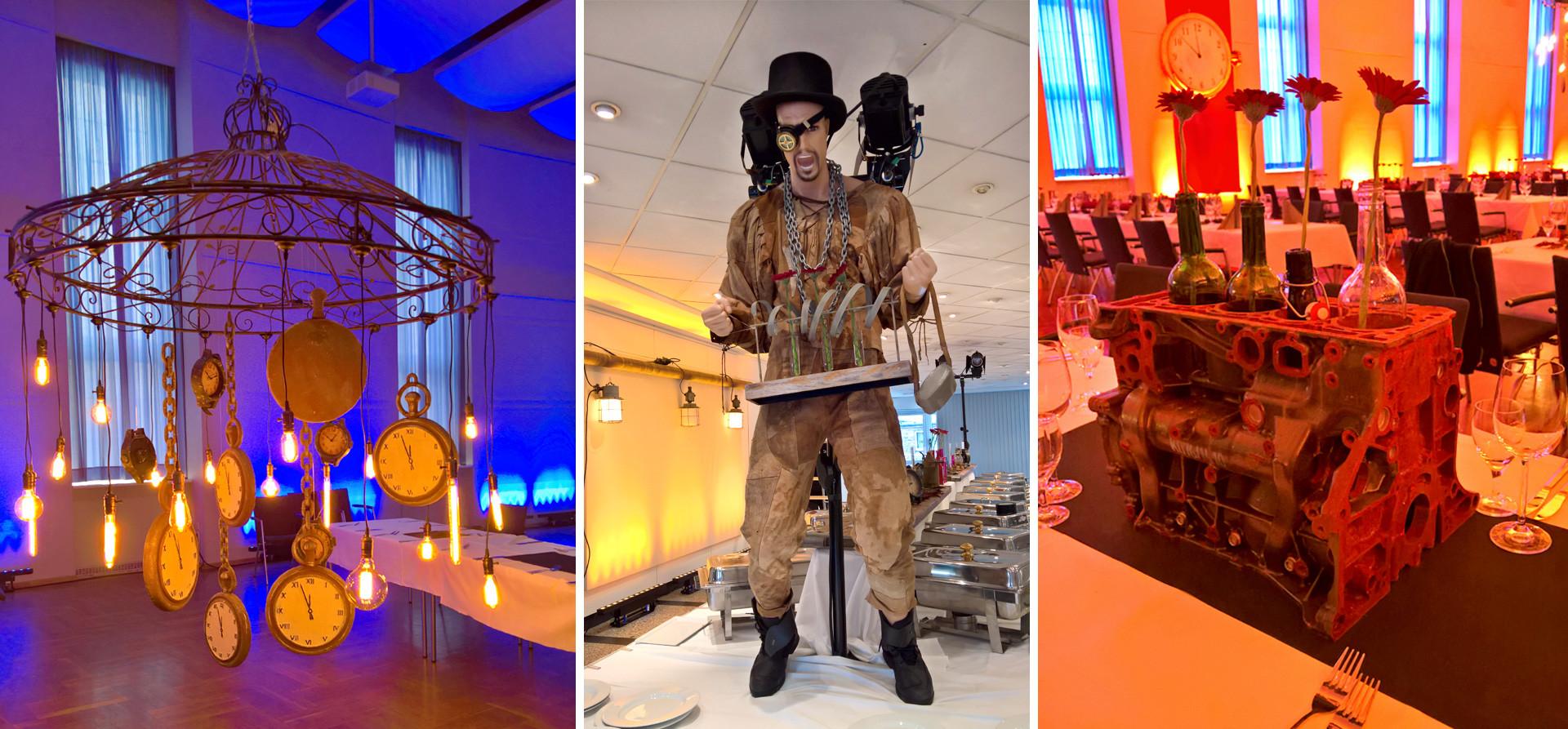 Veranstaltung Steampunk Dekoration
