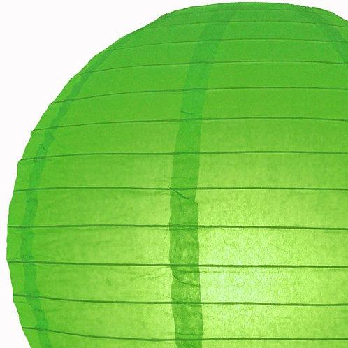 Papierlaterne apfelgrün
