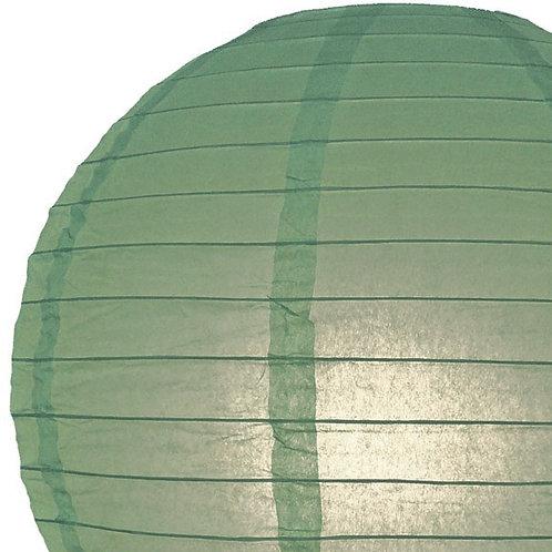 Papierlaterne grün, blassgrün