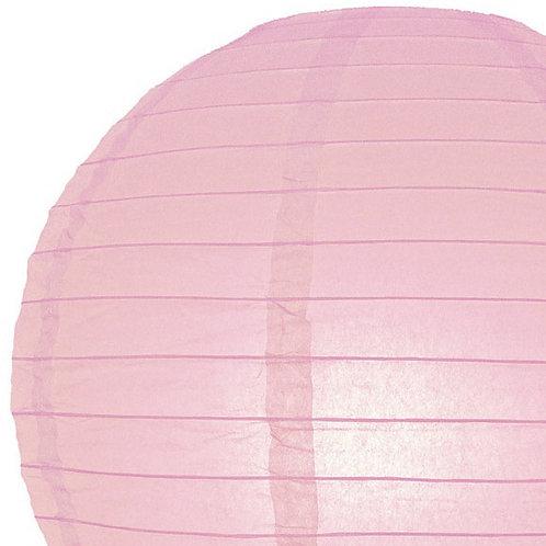 Papierlaterne, rosa