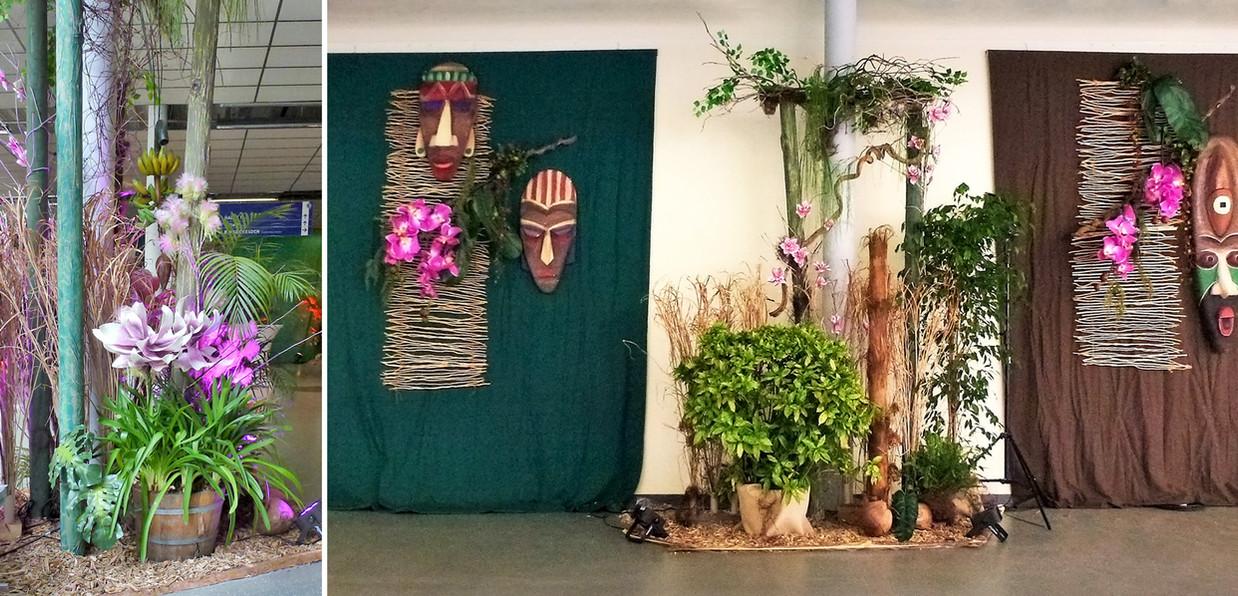 Veranstaltung Dschungel Dekoration