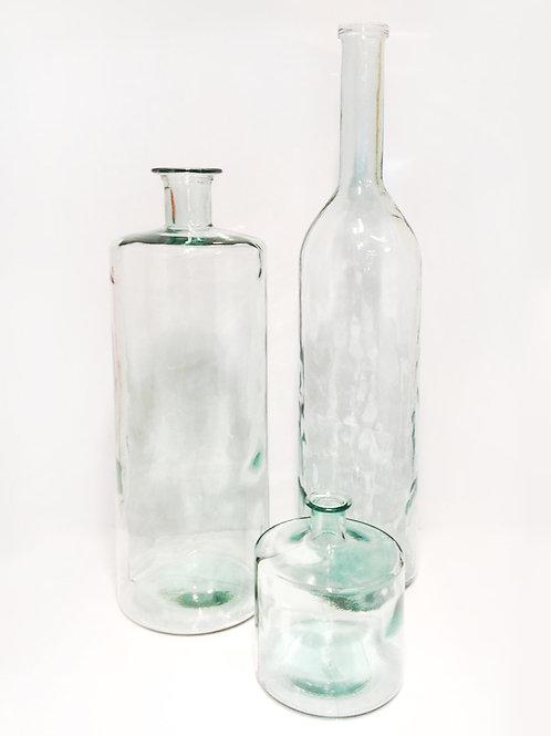 Glasvasen, Glasflaschen