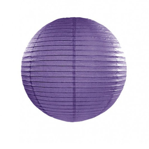 Papierlaterne violett