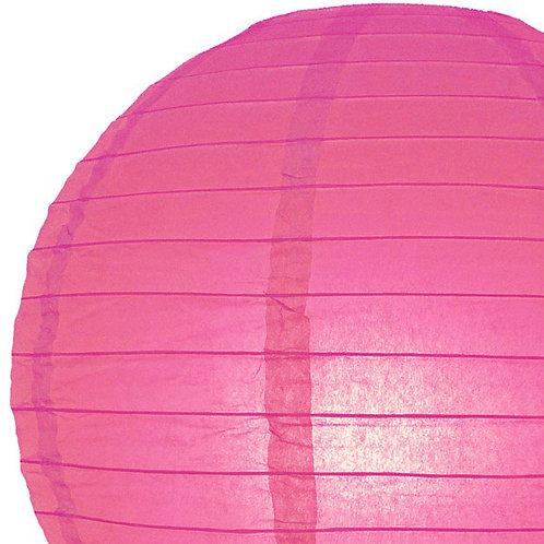 Papierlaterne, pink