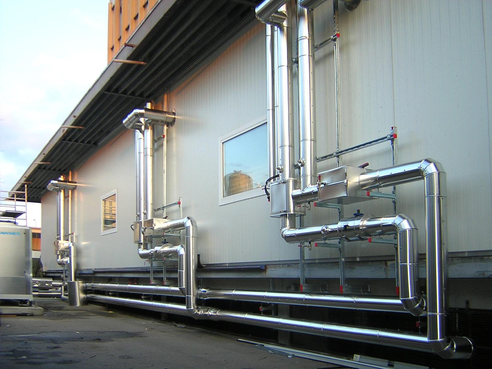 Rohrleitung-isolierung-Alu