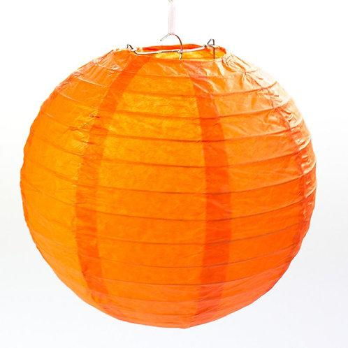 Papierlaterne orange