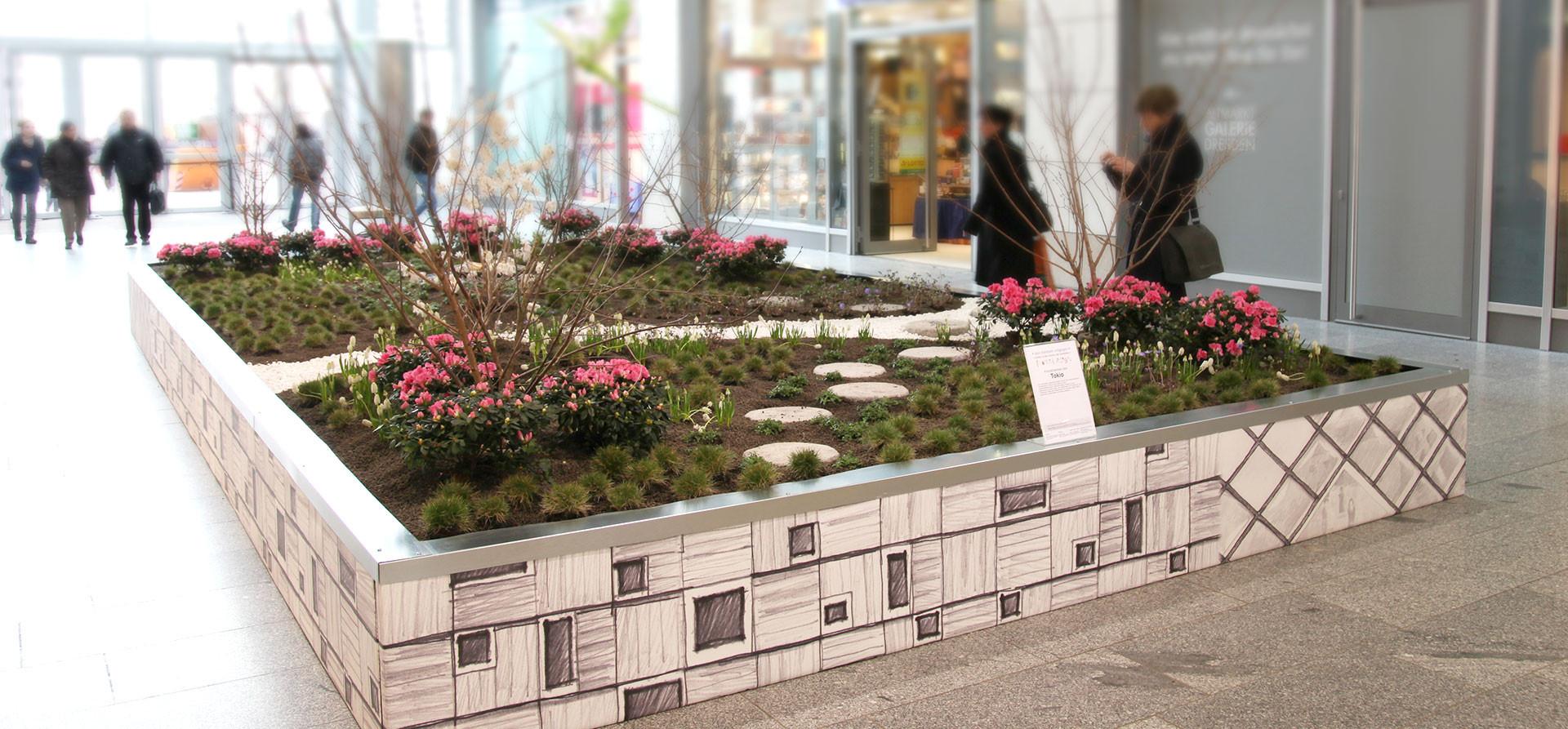 Einkaufscenter Dekoration Tokio