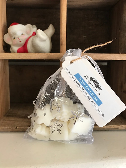 White Christmas Wax Melts