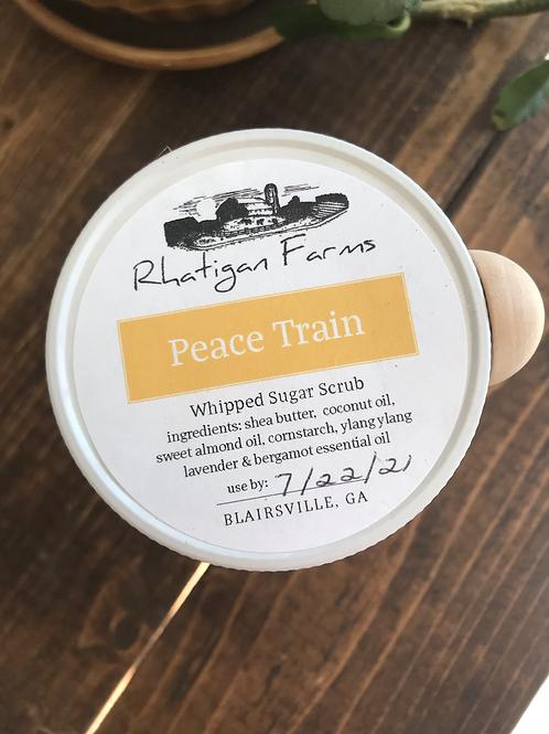 Peace Train Whipped Sugar Scrub 10oz