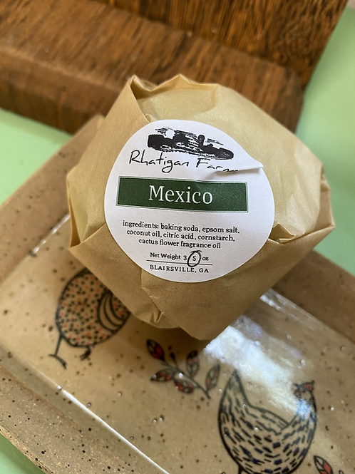 Mexico bath bomb