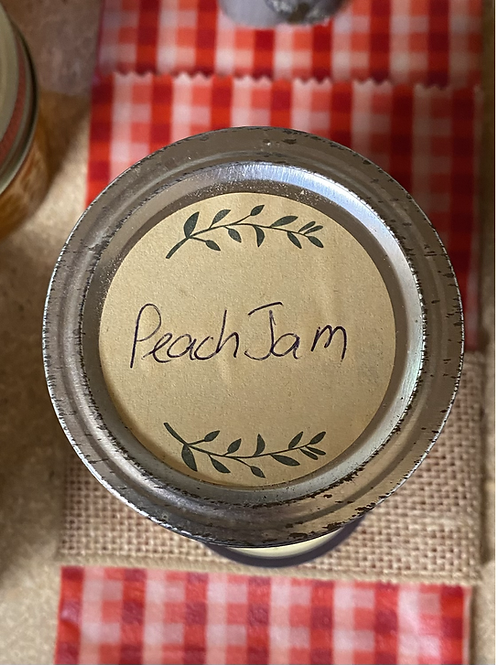 Peach Jam 8 oz