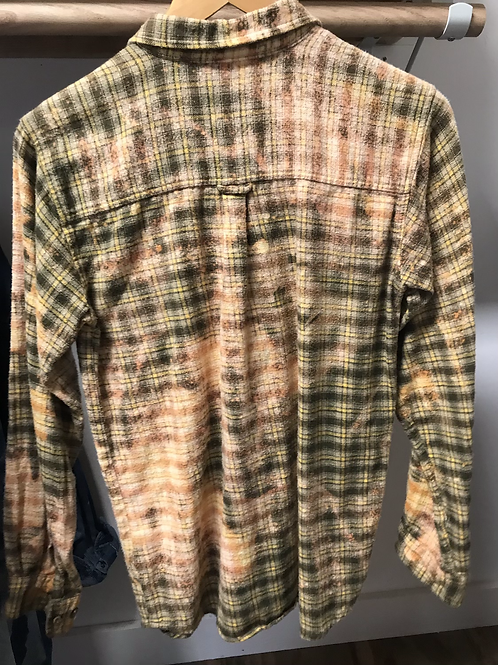 Butterfly bleached flannel kids large