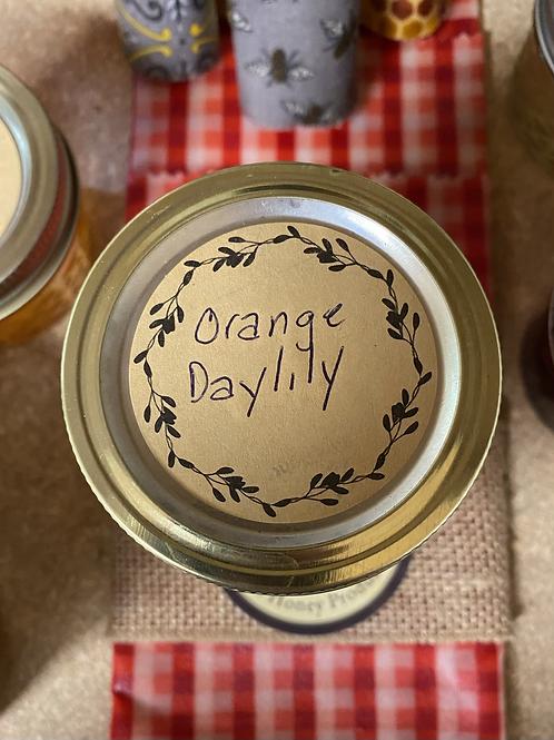 Orange Daylily jelly 8 oz